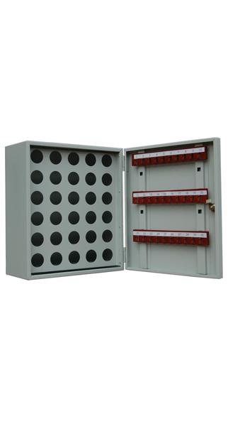 Шкаф для ключей КЛ-30П купить недорого в Екатеринбурге(30 пеналов, без брелков)