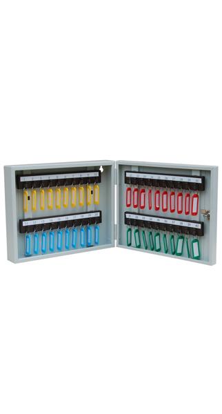 Шкаф для ключей КЛ-40 с брелками купить недорого в Екатеринбурге